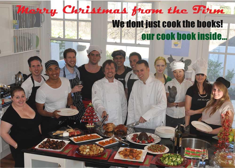 Cooking Chrsitmas Card